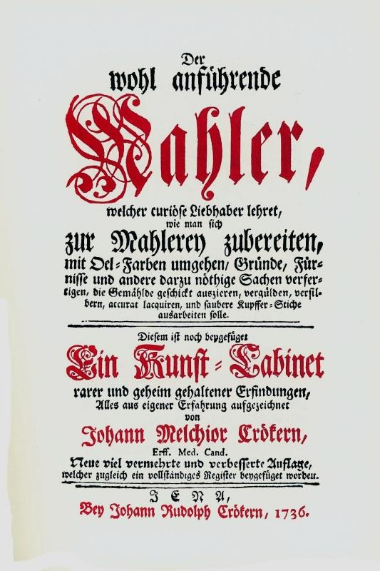 You are browsing images from the article: CROEKER JOHANN MELCHIOR Der wohlanführende Mahler, welcher curiöse Liebhaber lehret