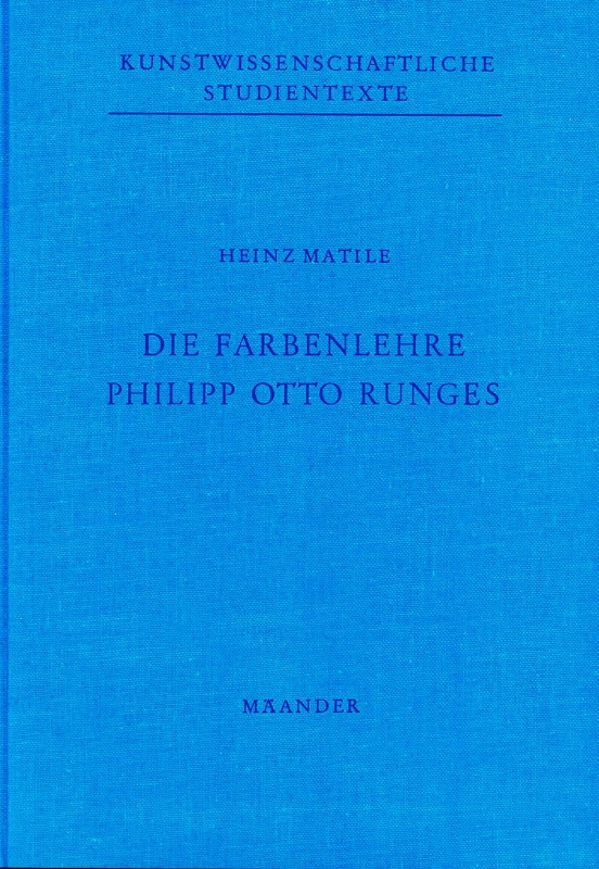 You are browsing images from the article: MATILE HEINZ  Die Farbenlehre Philipp Otto Runges Beitrag zur Geschichte der Künstlerfarbenlehre